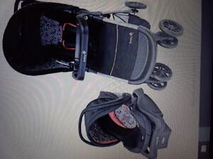 New stroller and car seat.