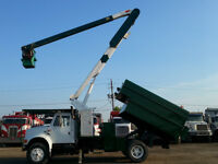 1991 International Bucket Truck 4900 DT 466 Engine