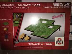 Brand new tailgate football toss games