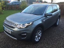 Land Rover Discovery Sport 2.0 TD4 HSE 180 bhp Automatic