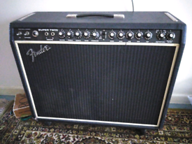 Original fender super twin valve amplifier