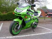 Kawasaki ZX6-R F2 1996 HPI CLEAR, ONLY 20171 MILES, SERVICED WITH NEW MOT