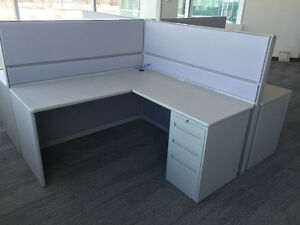 Refurbished Office Cubicles Like New Condition Any Size & Colour Windsor Region Ontario image 5