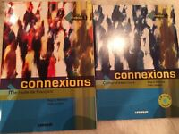 French textbooks 'Connexions' with CD