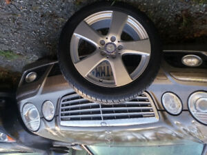 Brand new tires and rims Mercedes Benz