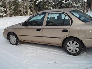1997 Toyota Corolla Sedan