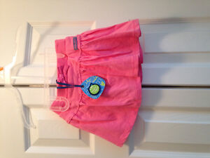 Pink skirt size 12 mths new with tags