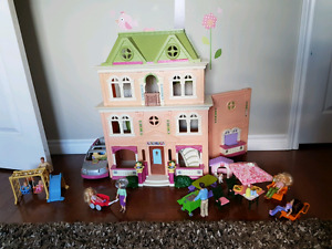 Loving Family Dollhouse and Sets