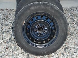 NEW PRICE!WINTER TIRES AND RIMS HYUNDAI ELANTRA OR SONOTA