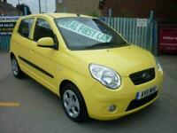 2011 Kia Picanto 1.1 2 5dr £30 ROAD TAX 7 SERVICE STAMPS IDEAL FIRST CAR HATCHBA