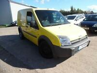 FORD TRANSIT CONNECT SWB 1.8 PETROL YELLOW VAN