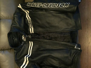 Harley jacket and vest