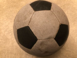 "Game used 1970s ""Vinyl rubber"" soccer balls wanted!!!!"