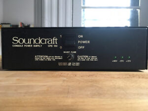Soundcraft CPS-150 Power supply fully tested and working