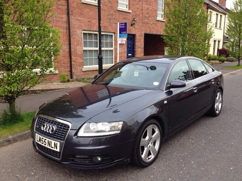 2006 audi a6 tdi s line model top spec a4 a3 in. Black Bedroom Furniture Sets. Home Design Ideas
