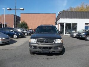 2002 Ford Explorer XLT SUV AWD safety and E test