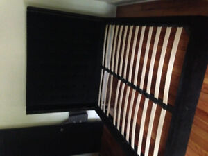 Stylish Queen sz bed frame for sale $225