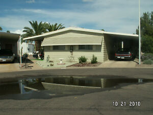 BEAUTIFUL DOUBLE-WIDE MOBILE HOME IN CITRUS GARDENS, AZ