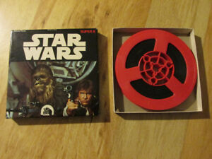 Disney Fox STAR WARS A New Hope 1977 Super 8 8mm Ken Film Reel