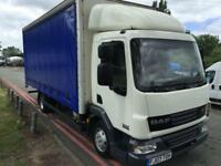 DAF LF45 CURTAIN SIDE 19FT NEW MOT