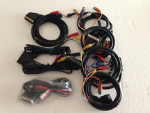 21 Pins Scart To RCA Plug Cable Audio / Video Yagoona Bankstown Area Preview