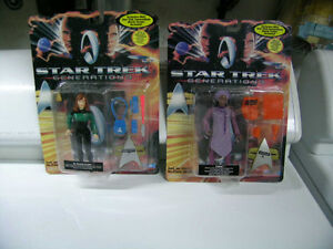 "STAR TREK  Generations  Action Figures 6"" new in package Kitchener / Waterloo Kitchener Area image 3"