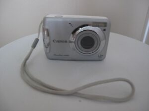 Canon PowerShot A480Appareil Photo Numérique Digital Camera