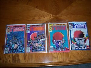 MACHINE MAN COMICS
