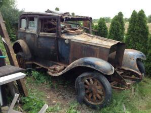 Restoration project  1929 Pontiac