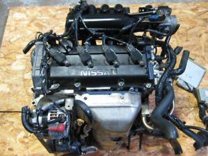 02 06 NISSAN ALTIMA SENTRA QR20DE 2.0L ENGINE REPLACEMENT QR25