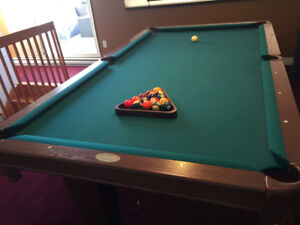 Palason pool table and accessories