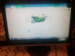 "SAMSUNG 216BW WIDESCREEN LCD 21.6"" MONITOR IN ORIGINAL BOX"