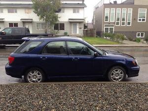 2002 Subaru Impreza TS Wagon