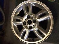 "1x 15"" mini alloy wheel"