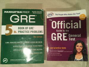 GRE Books -- Manhattan 5 Lb. Book of GRE Practice Problems