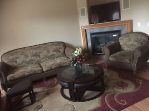 Fully Furnished 3 Bedrooms for Rent in Timberlea