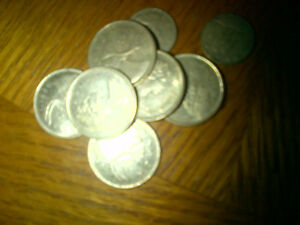 SILVER COINS WANTED FROM 1968 AND 1967