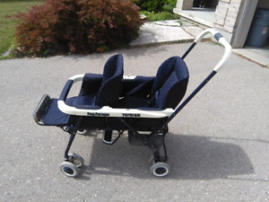 Peg perego 'tender' double stroller