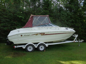 A vendre/for sale 1998 Mariah 216 Cuddy Cruiser with trailer