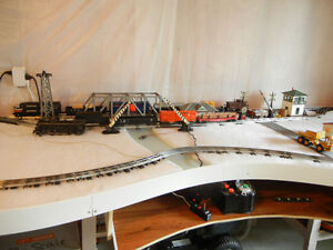 N, HO, O scale Toy train lay out table Kitchener / Waterloo Kitchener Area image 4