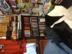 ASSORTED DVD, VHS, BOX SETS