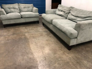 Turquoise Couch SET -  Delivery