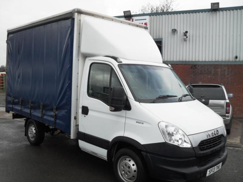 2013 iveco daily 35s13 3 5tn mercedes sprinter curtainsider euro 5 130bhp l k in nuneaton. Black Bedroom Furniture Sets. Home Design Ideas