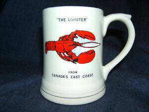New Old Stock - THE LOBSTER - BONE CHINA - ENGLAND