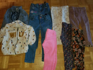 Lot of clothes for girl - 4 years