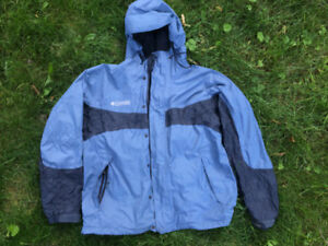 Columbia Packable Rain Jacket - L