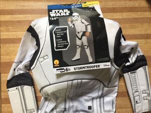 Boys Large - Star Wars Stormtrooper Costume - ** NEW