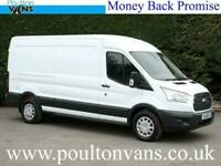 2017 (66) FORD TRANSIT 350 FWD TREND EURO 6 130PS 6 SPEED L3 H2 LWB