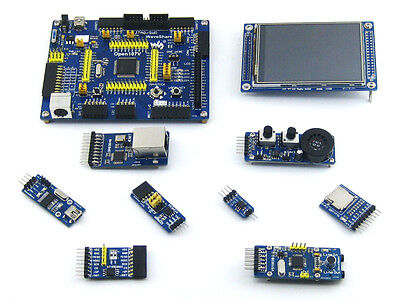 Stm32f107vct6 Stm32f107 Arm Cortex-m3 Stm32 Development Board 8 Modules Kit