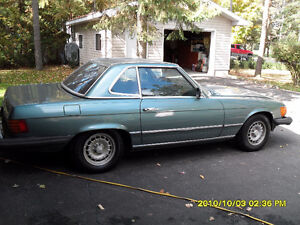 1980 classic Benz